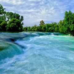 Река и водопад Манавгат