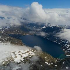 Вчерашний снег в середине июля, или свежесть по-норвежски.