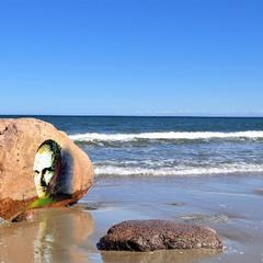 Граффити и море