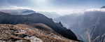 Сулакский каньон - панорама
