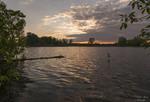 На весняному озерці