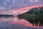 Вечірнє дійство над озером Свішень