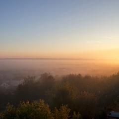 Жовтневий ранок з вікна