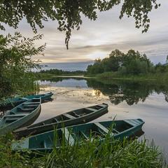Похмурий ранок на рибальському Снові