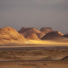 Черно-Белая пустыня. Египет