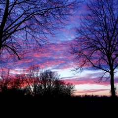 Небо января
