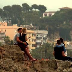 Любовь, Испания, рассвет.
