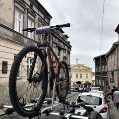 Коли у місті велогонка