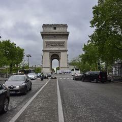Похмурий день в Парижі