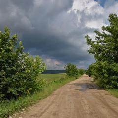 Насунула чорна хмара