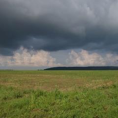 Чорна хмара землю вкрила