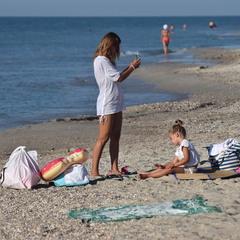 Пляжна замальовка