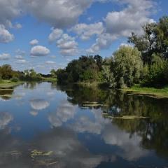 """""""В реку смотрятся облака..."""""""