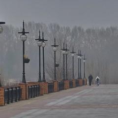 Туманний зимовий ранок