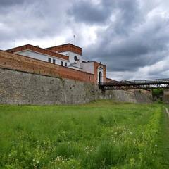 Надбрамний корпус Дубенського замку.