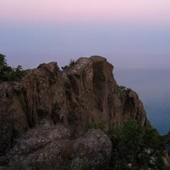 Спогади про Крим - 2. Скеля Дракон.