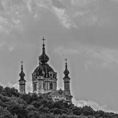 Облака и Церковь...
