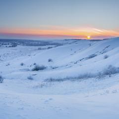 Кінець зимового дня...