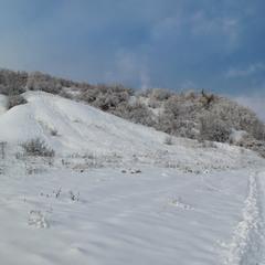 Засніжені пагорби...