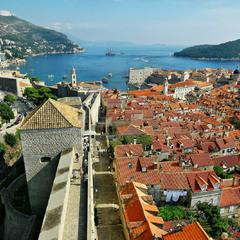 Панорама Дубровника ...