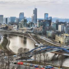 Панорама Вильнюса ...