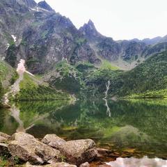 Озеро в Польше  ...