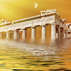 Parthenon of Athens. Воспоминания.Зарисовки.