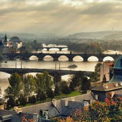 Прага ,прекрасная старушка ...