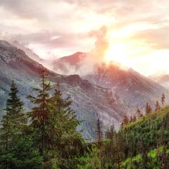 Дыхание могучих гор ...