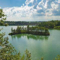 Остров любви на Базальтовом озере