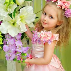 Цветочная принцессочка