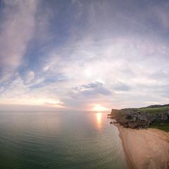 Рассвет на Генеральских пляжах