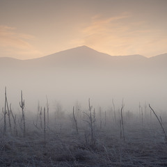 Рассвет в Байдарской долине