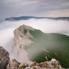 С вершины Ильяс-кая