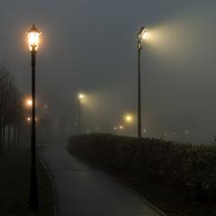 Тумант и фонари.