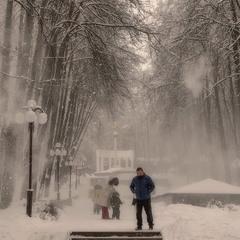 Снежный сюрприз.