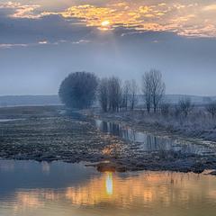 Холодний ранок (р.Тясмин, березень 2019)