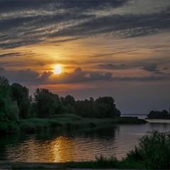 Облачное утро)