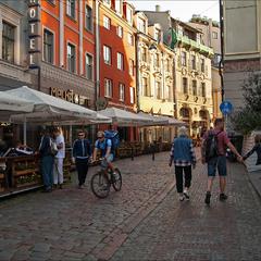 по уличкам старинного города Риги