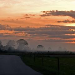 сутінки осінньою порою