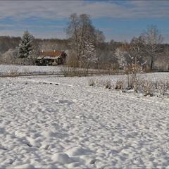по першому снігу