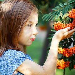 девочка рыжик