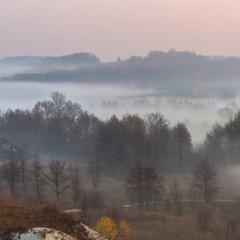 Осінній ранок у Долині світанків.