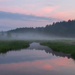 Річечка Олешня. Після травневих дощів. . .