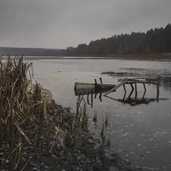 Осени на Темному озері.
