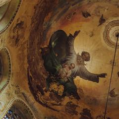 Оздоблення та розпис Воскресенської церкви Казанської Божої Матері.