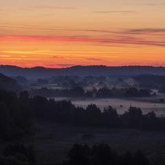 Перед сходом сонця.