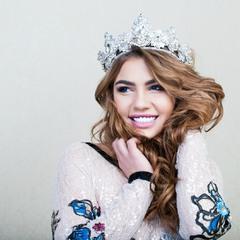 Победительница конкурса красоты