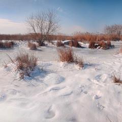 Зимовий берег Інгулу