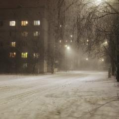 На нашій вулиці зима